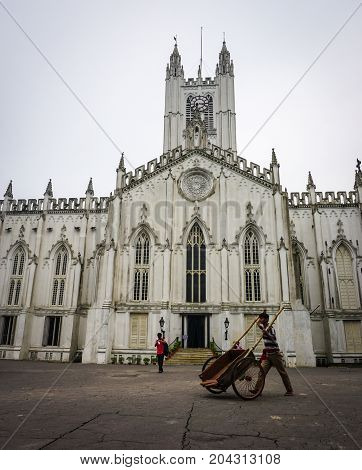St. Paul Cathedral In Kolkata, India