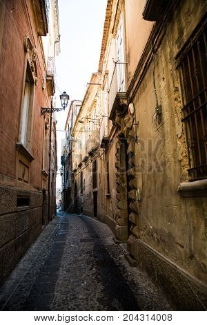 In the streets of Tropea, travel, city, calabria