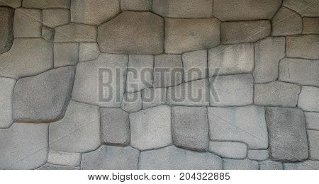 Stone background is made of concrete, concrete background.