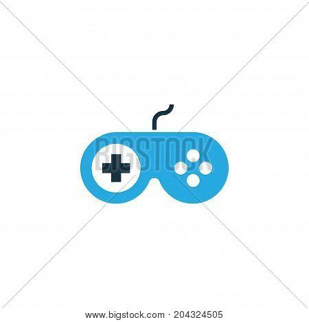 Premium Quality Isolated Gamepad Element In Trendy Style.  Joystick Colorful Icon Symbol.