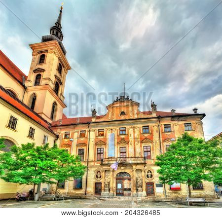 Governor's Palace in Brno - Moravia, Czech Republic
