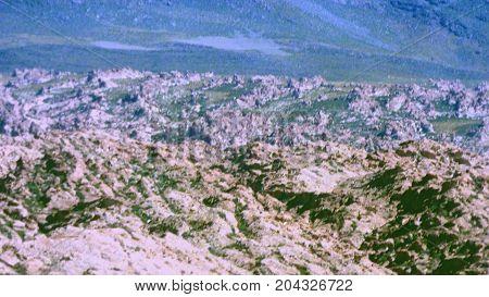 Volcanic rocks in Altiplano. Bolivia south America