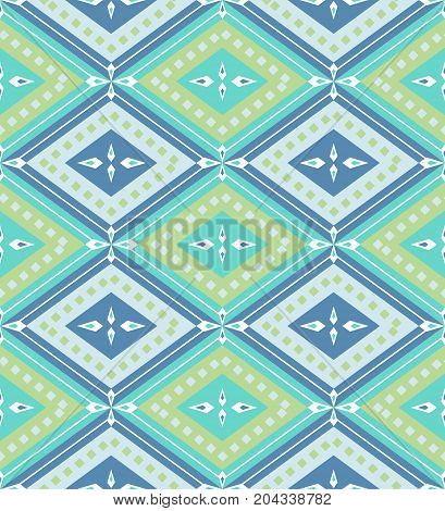 Seamless geometry pattern repeatable background for website wallpaper textile printing texture editable in vector