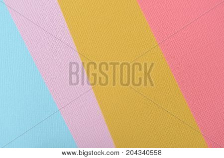 Colorful Cardboad Background And Texture