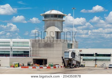 Control Tower And Gate