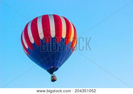 Red, White & Blue Hot Air Balloon