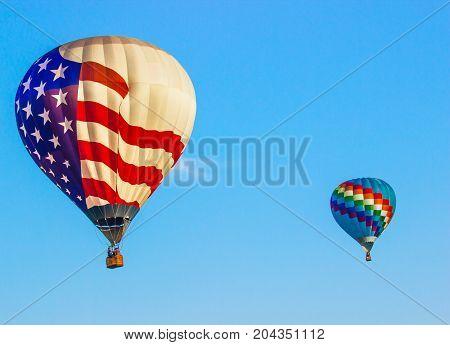 Stars & Stripes Balloon Plus Multi Colored Balloon