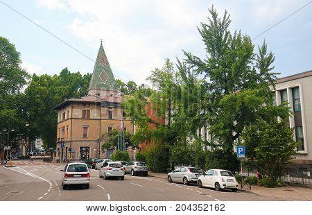 Historical Center Of Trento, Italy