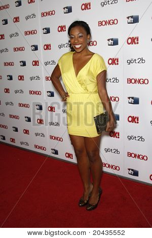 LOS ANGELES - APR 14:  Tanya Chisholm at the OK magazine 'Sexy Singles Party' held at The Lexington Social House in Los Angeles, California on April 14, 2011.