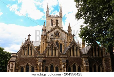 Southwark Cathedral, London. A place of Christian worship for more than 1, 000 years