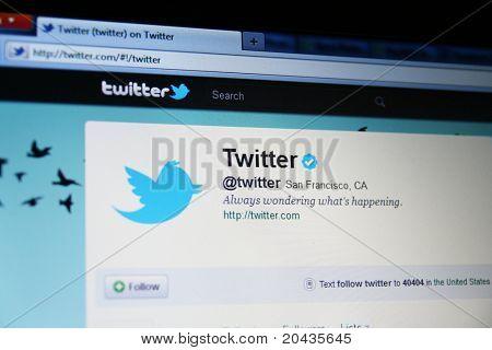 SAN FRANCISCO, CA - 25 Mai: Nach Monaten der Gerüchte, hat Twitter schließlich bekannt, dass es Acqui hat