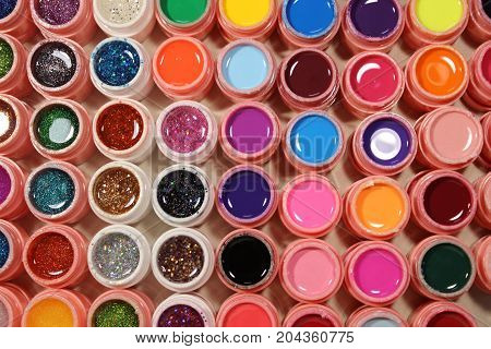 Bright Colors For Nails, Many Colors