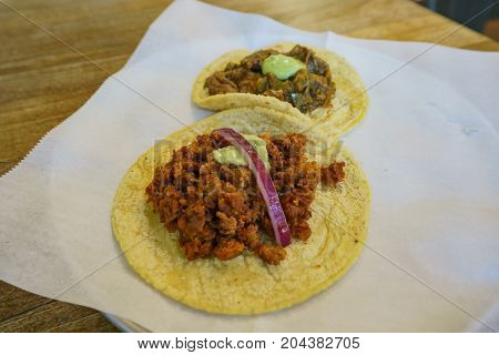 Delicious Mexican Style Taco