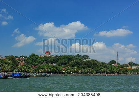 Xiamen Gulangyu Islet Panoramic View Of The Island