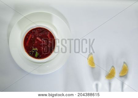 Food In A Dish On A White Surface