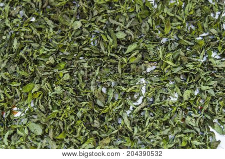 natural and organic fresh mint pictures, dried mint sauce into the picture to make soup, dry dried mint, dried mint in terms of health, put into meal mint pictures