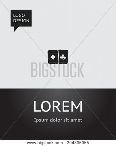 Vector Illustration Of Excitement Symbol On Playing Cards Icon