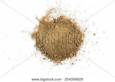 Pile Of Mascavo Brown Sugar