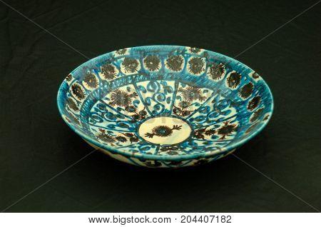 Oriental Antique Ceramic Plate