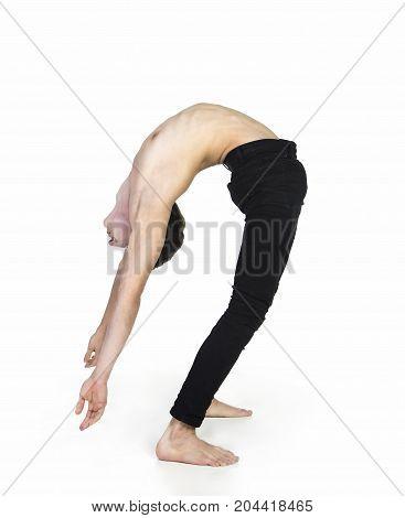 Extraordinary Boy Gymnast - Yoga