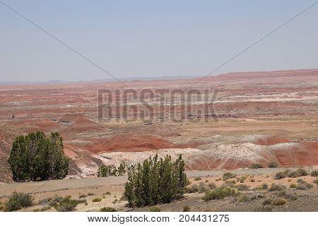 Phenomenal views of Painted Desert in Arizona
