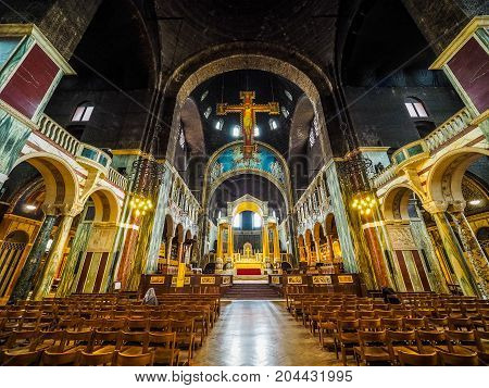 Westminster Cathedral In London (hdr)