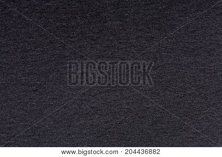 Black classic watercolor paper, texture. High quality texture in extremely high resolution