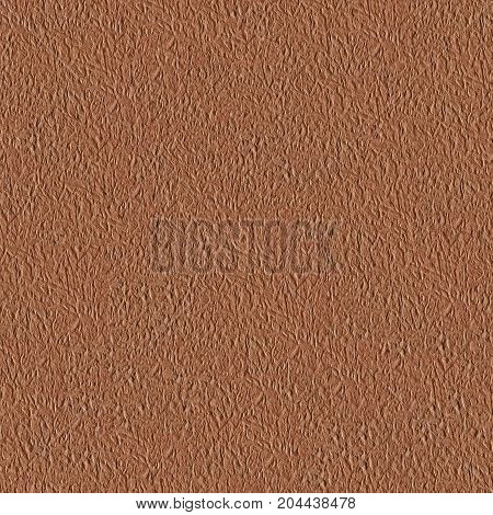 Seamless square texture. Brown kraft paper. Tile ready. High resolution photo.