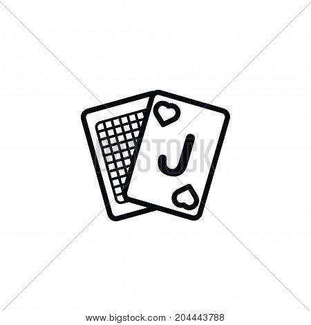 Game Vector Element Can Be Used For Game, Deck, Poker Design Concept.  Isolated Deck Icon.