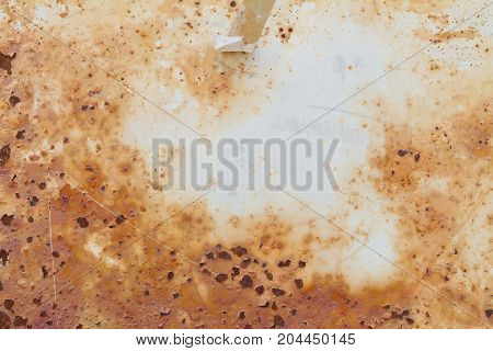 rusted metal white painted grunge grime texture