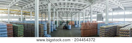 Large Warehouse With Drinks