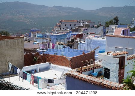 Chefchaouen In Northern Morocco.