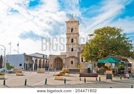 December 2, 2016, Greek Orthodox Church of Saint Lazarus, Larnaca, Cyprus