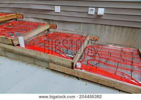 Outdoor Radiant Heating For Concrete