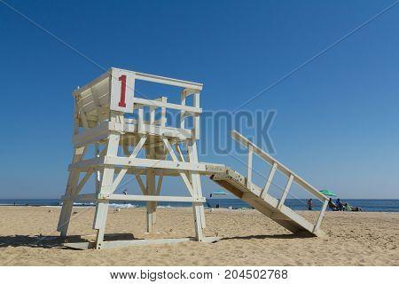 Sea Girt New Jersey Lifeguard Stand