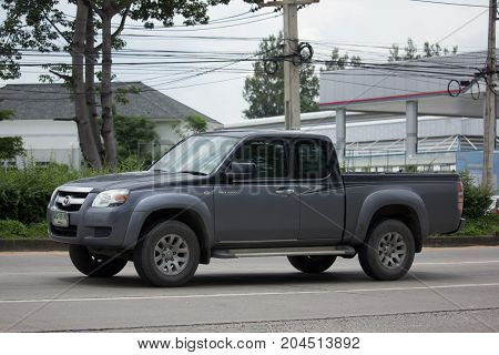 Private Mazda Pickup Truck.