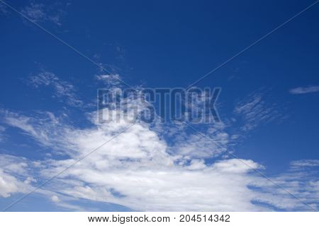 Sky and Cloudscape Background location at Nonthaburi Thailand
