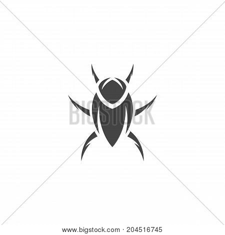 Beetle icon. Vector logo illustration isolated sign symbol