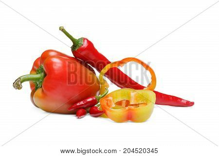 Picture of a delicious home made pepper. Healthy lifestyle.