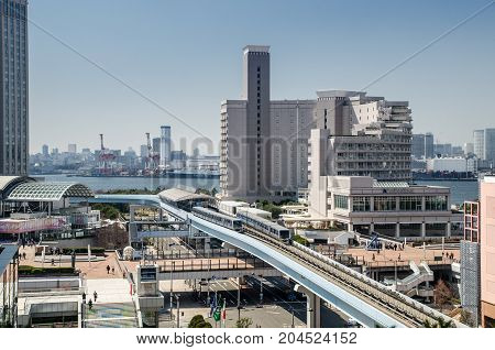 Monorail Train Line