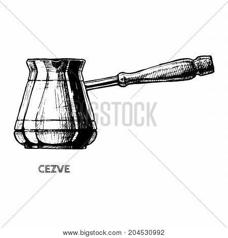 Illustration Of Cezve