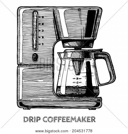 Illustration Of Coffee Machine