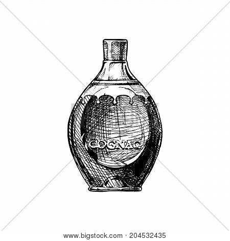 Illustration Of Cognac