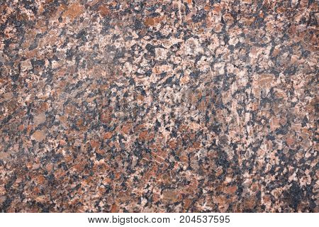 Red Granite As A Background Texture