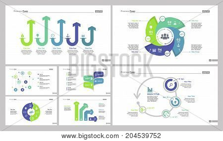 Infographic design set can be used for workflow layout, diagram, annual report, web design. Business and marketing concept with comparison, options, organizational and flow charts