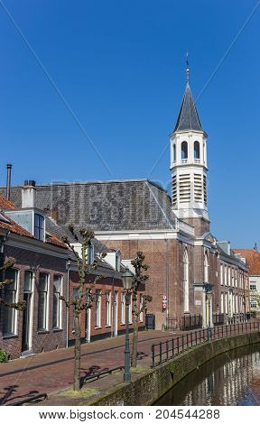 Elleboogkerk Church At A Canal In Amersfoort