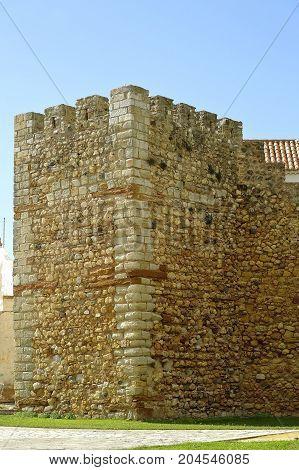 Lagos Algarve Portugal - October 28 2015 : The historical Castelo dos Governadores in Lagos