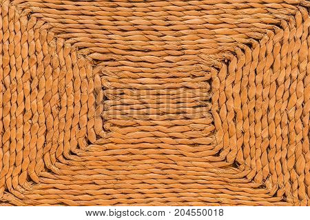 Wicker texture and background. Abstract texture and background for designers. Macro view of wicker texture for graphic design.