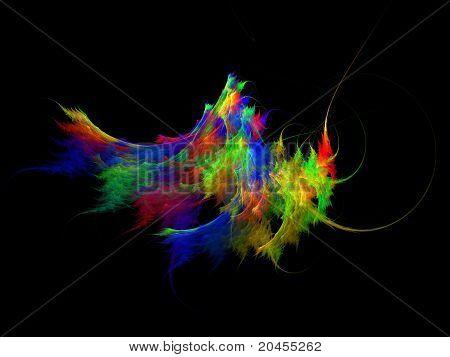SS Fractal - Rainbow Nebula