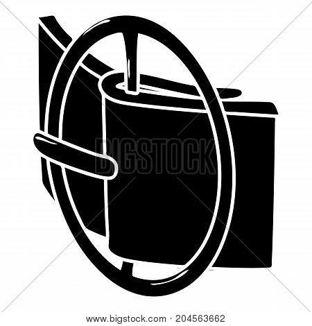 Podium fashion belt icon. Simple illustration of podium fashion belt vector icon for web design isolated on white background